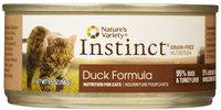 Natures Variety Nature's Variety Instinct Duck Diet - 12 x 5.5 oz