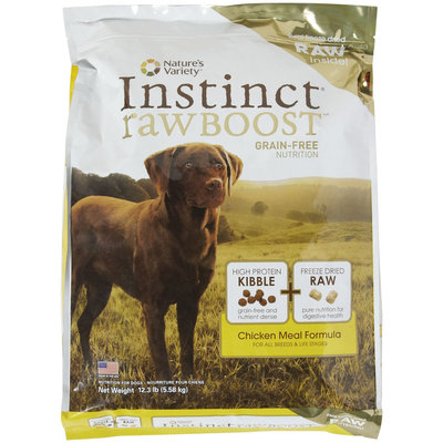 Natures Variety Nature's Variety Instinct Raw Boost Grain-Free Chicken Dry Food