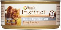Natures Variety Nature's Variety Instinct Grain - Free Limited Ingredient Diet Turkey Cat Food