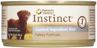 Natures Variety Nature's Variety Instinct Grain - Free Limited Ingredient Diet Turkey Dog Food