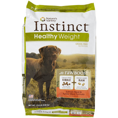 Natures Variety Nature's Variety Instinct Grain Free Healthy Weight Salmon Meal & Turkey Meal Recipe