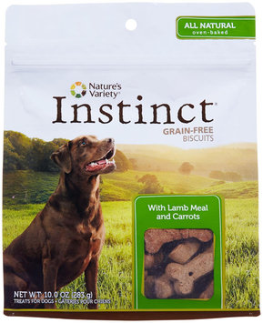 Natures Variety Nature's Variety Instinct Biscuit Treats With Lamb Meal and Carrots