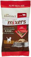 Natures Variety Nature's Variety Instinct Raw Boost Mixer Dog Formula - Beef - 1 oz
