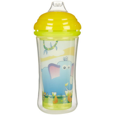 Nuby CLICK-IT No-Spill Silicone Spout cup - 9oz - 1 ct.