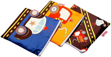 Nuby 3-pk. Reusable Snack Bags (Cars)