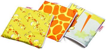 Nuby 3-pk. Reusable Snack Bags (Giraffe)