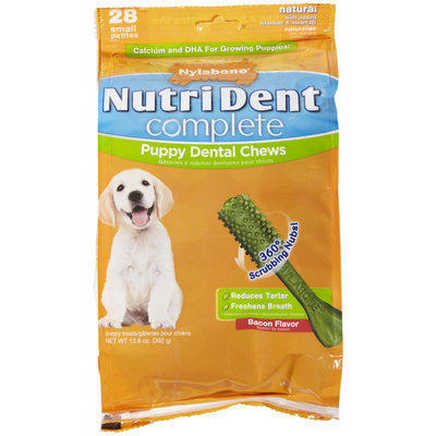 Nylabone Nutri Dent Complete Puppy Bacon Flavor