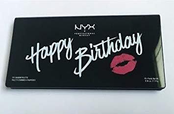 NYX Happy Birthday Eyeshadow Palette