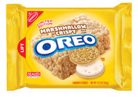Nabisco Oreo Sandwich Cookies Marshmallow Crispy