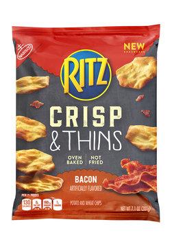 Nabisco RITZ Crisp & Thins Bacon