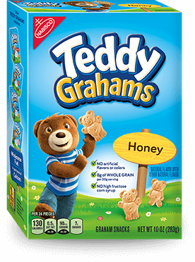 Nabisco Teddy Grahams Honey Maid Graham Snacks Honey