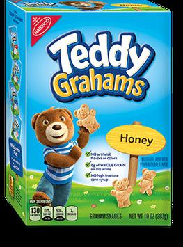 Nabisco Teddy Grahams Honey Maid Graham Snacks Honey