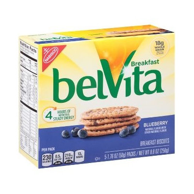 belVita Blueberry Breakfast Biscuits