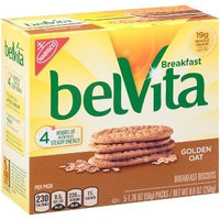 Nabisco belVita Breakfast Biscuits Golden Oat