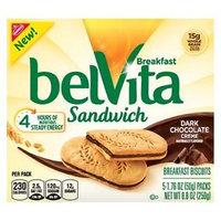 belVita Breakfast Biscuits Sandwich Dark Chocolate Creme