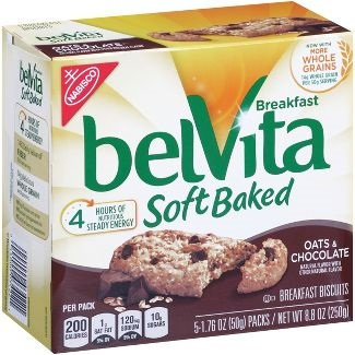 Nabisco belvita Soft Baked Oats And Chocolate