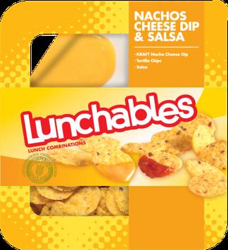 Lunchables Nachos Cheese Dip & Salsa