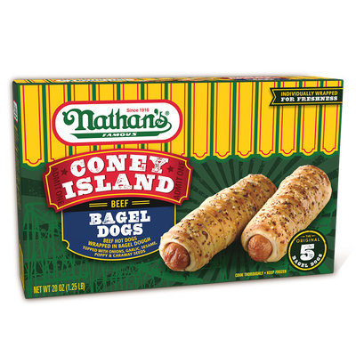 Nathan's Famous Coney Island Bagel Dogs