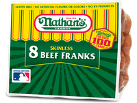 Nathan's Famous Skinless Beef Franks