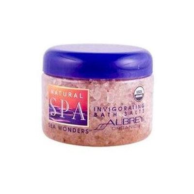 Aubrey Organics Natural Spa Sea Wonders Invigorarting Bath Salts