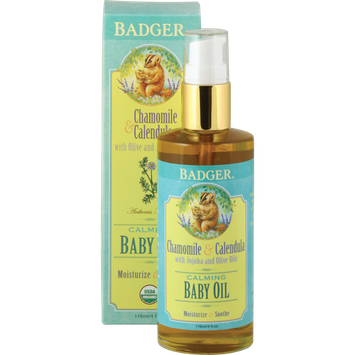 Badger Balm Natural & Organic Baby Oil