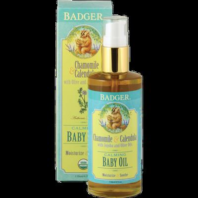 BADGER® Natural & Organic Baby Oil
