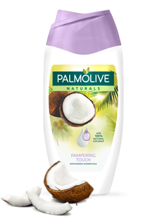 Palmolive® Natural Pampering Touch Body Wash