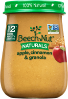 Beech-Nut® Stage 2 Naturals Apple, Cinnamon & Granola