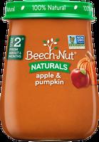 Beech-Nut® Stage 2 Naturals Apple & Pumpkin