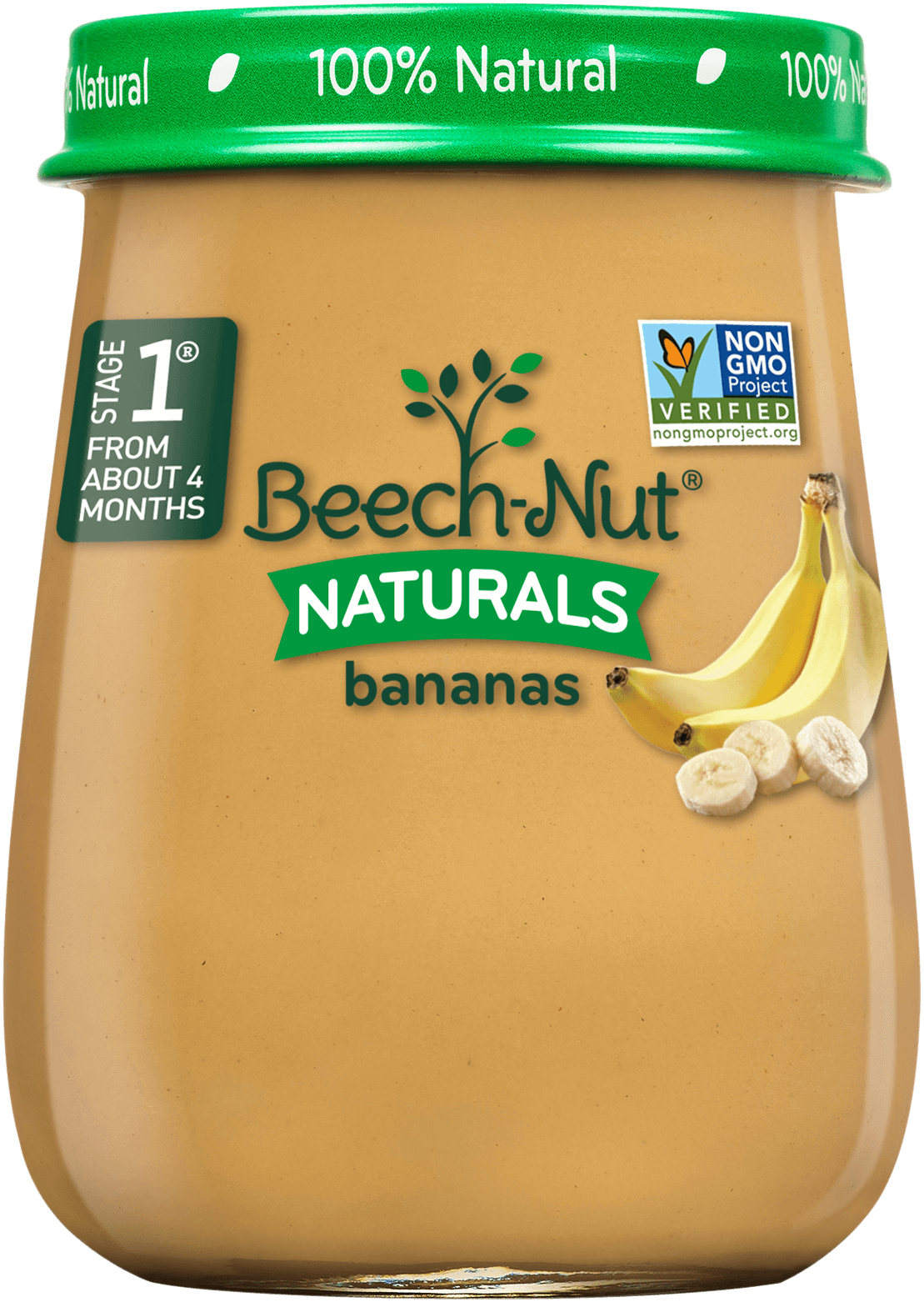 Beech-Nut® Stage 1 Naturals Bananas