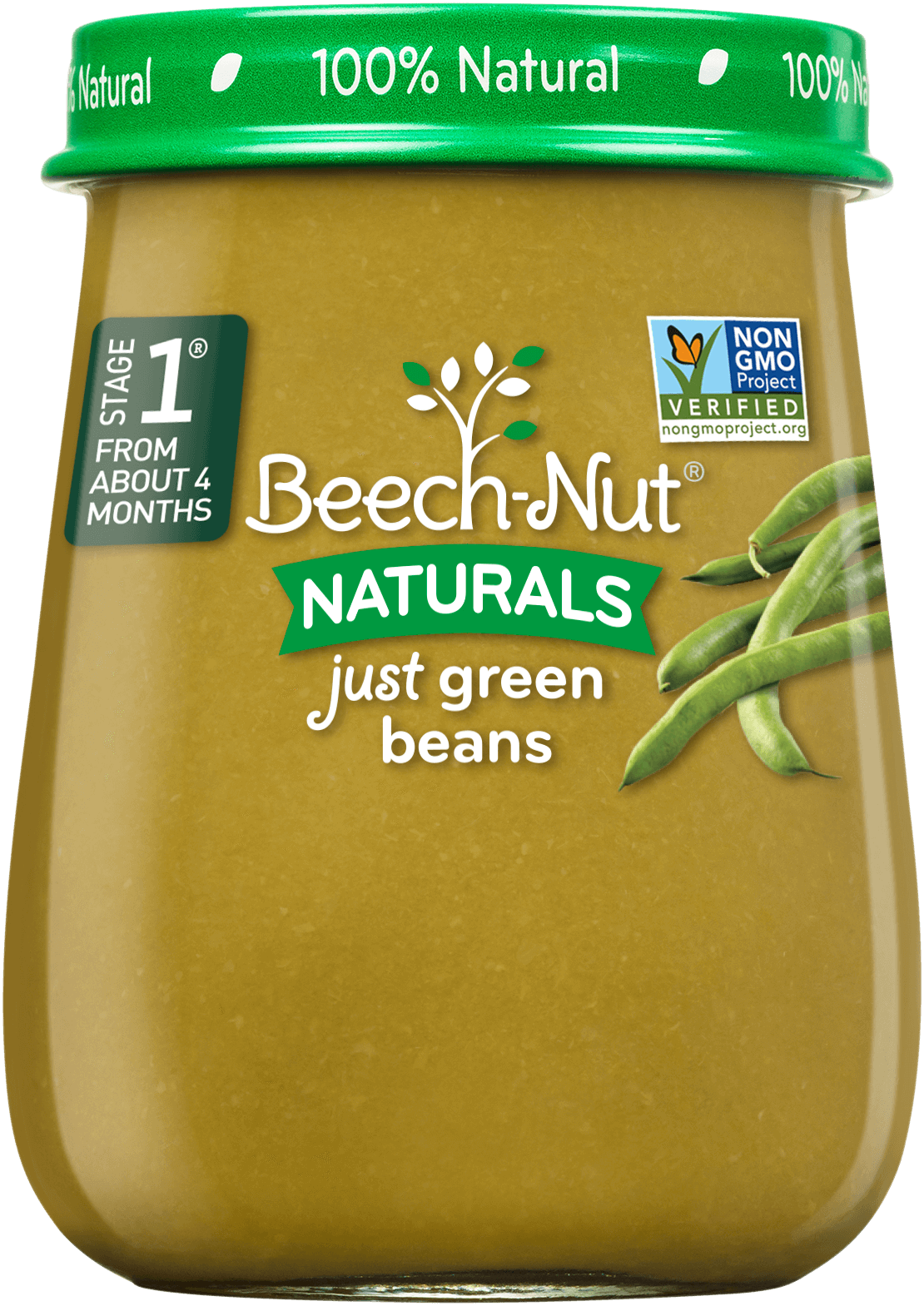 Beech-Nut® Stage 1 Naturals Just Green Beans