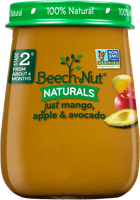 Beech-Nut® Stage 2 Just Mango, Apple & Avocado