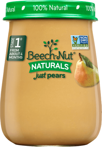 Beech-Nut® Stage 1 Naturals Just Pears