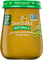 Beech-Nut naturals just peas, green beans & asparagus