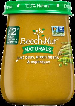 Beech-Nut naturals just peas, green beans & asparagus