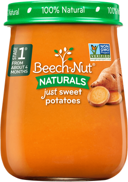 Beech-Nut® Stage 1 Naturals Just Sweet Potatoes
