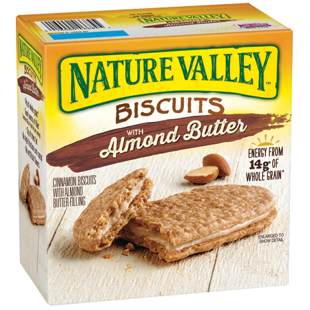 Nature Valley™ Almond Butter Biscuit Sandwiches