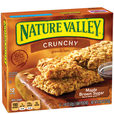 Nature Valley™ Crunchy Granola Bars Maple Brown Sugar