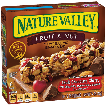 Nature Valley™ Dark Chocolate Cherry Fruit & Nut Bars