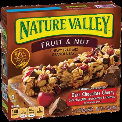Nature Valley™ Dark Chocolate Cherry Fruit & Nut Bars