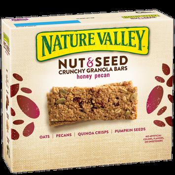 Nature Valley™ Nut & Seed Crunchy Granola Bars Honey Pecan