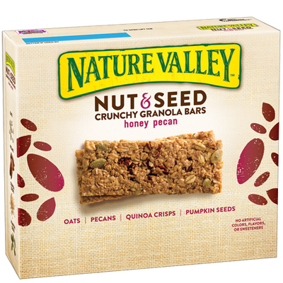 Nature Valley™ Nut & Seed Crunchy Granola Bars Honey Pecan