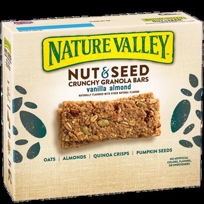 Nature Valley™ Nut & Seed Crunchy Granola Bars Vanilla Almond