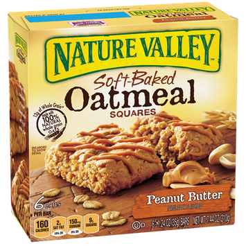 Nature Valley™ Peanut Butter Soft-baked Oatmeal Squares