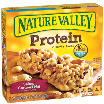 Nature Valley™ Protein Chewy Bars Salted Caramel Nut