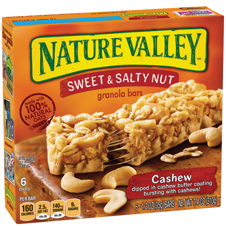 Nature Valley™ Cashew Sweet & Salty Granola Bars