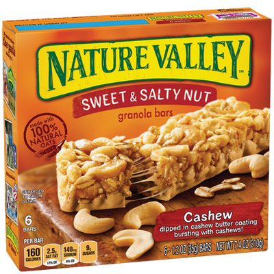 Nature Valley™ Cashew Sweet & Salty Granola Bars