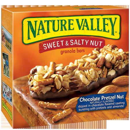 Nature Valley™ Sweet & Salty Granola Bars Chocolate Pretzel Nut