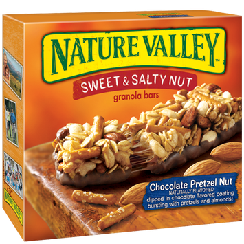 Nature Valley™ Sweet & Salty Granola Bars Chocolate Pretzel Nut