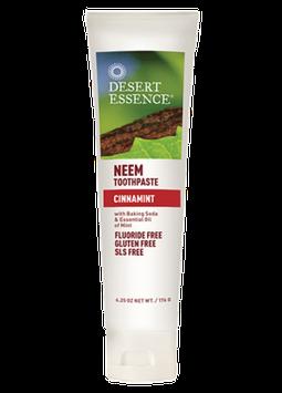 Desert Essence Neem Toothpaste - Cinnamint